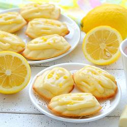 Пазл онлайн: Лимонное печенье