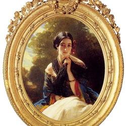 Пазл онлайн: Леонилла Барятинская,княгиня Сайн-Витгенштейн