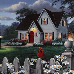 Пазл онлайн: Гостевой домик