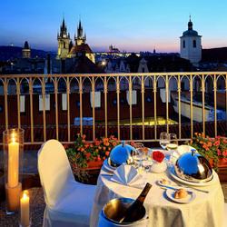 Пазл онлайн: Романтический вечер в Праге
