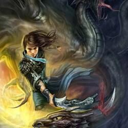 Пазл онлайн: Драконы
