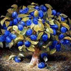 Пазл онлайн: Сливовое дерево
