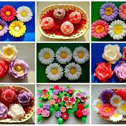 Пазл онлайн: Цветочное мыло