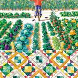 Пазл онлайн: Садовая тропинка