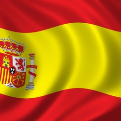 Пазл онлайн: Флаг Испании