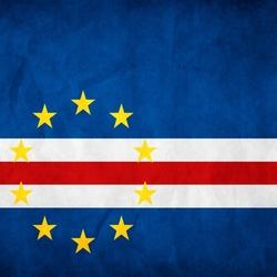 Пазл онлайн: Флаг Кабо-Верде