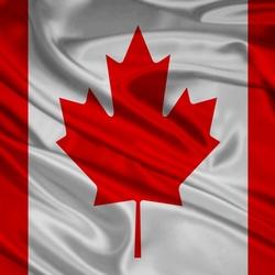 Пазл онлайн: Флаг Канады