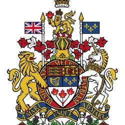 Пазл онлайн: Герб Канады