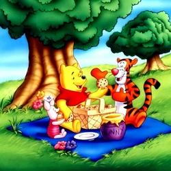 Пазл онлайн: Дружеский пикник