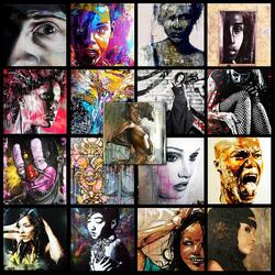 Пазл онлайн: Граффити