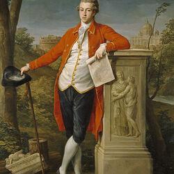 Пазл онлайн: Князь в Риме.Чарльз Робертс 1778