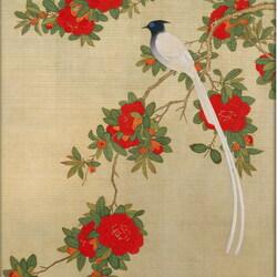 Пазл онлайн: Старинная китайская гравюра 18 век