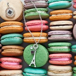 Пазл онлайн: Французское пирожное