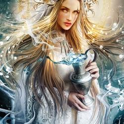 Пазл онлайн: Богиня судьбы