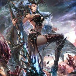 Пазл онлайн: Королева дьяволов