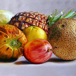 Пазл онлайн: Тропические фрукты