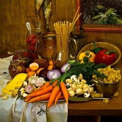 Пазл онлайн: Вкусный рецепт