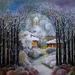 Пазл онлайн: Зима волшебница