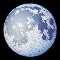 Пазл онлайн: Silver Moon / Серебрянная Луна
