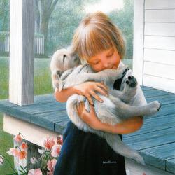Пазл онлайн: Любимый щенок