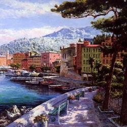 Пазл онлайн: Побережье Италии