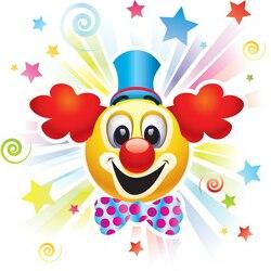 Пазл онлайн: Добрый клоун