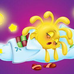 Пазл онлайн: Солнышко спит