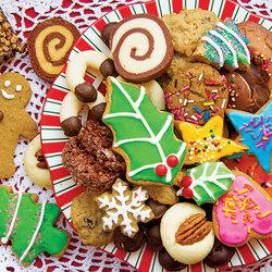 Пазл онлайн: Бабушкино печенье