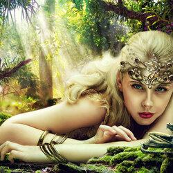 Пазл онлайн: Тишина леса
