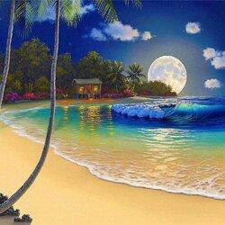 Пазл онлайн: На берегу