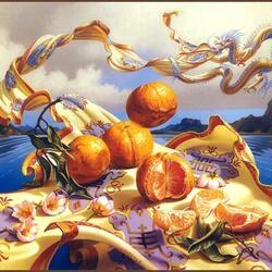 Пазл онлайн: Апельсины