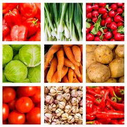 Пазл онлайн: Овощной