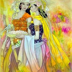Пазл онлайн: Тайские девушки