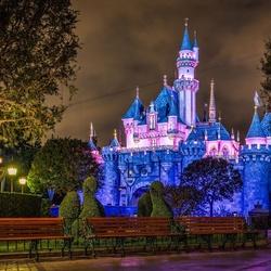 Пазл онлайн: Замок Спящей красавицы