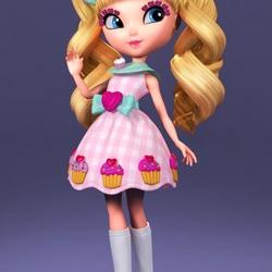 Пазл онлайн: Сладкая девочка