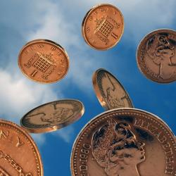 Пазл онлайн: Монеты