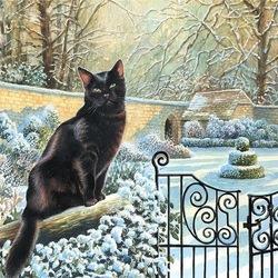 Пазл онлайн: В зимнем саду