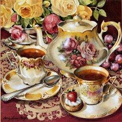 Пазл онлайн: Традиционный чай