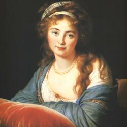 Пазл онлайн: Портрет графини Екатерины Скавронской  1790