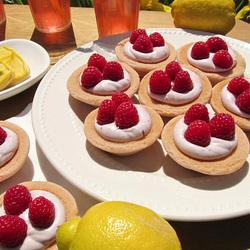 Пазл онлайн: Десерт с малиной