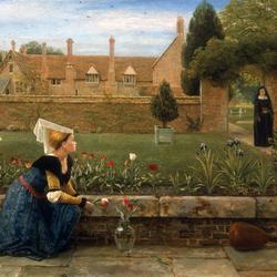 Пазл онлайн: Сад женского монастыря