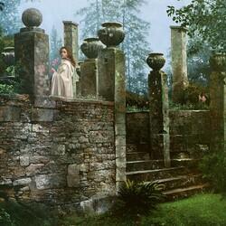 Пазл онлайн: Забытый сад