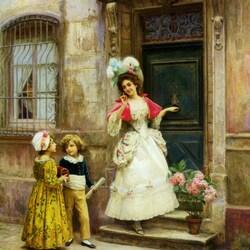 Пазл онлайн: В гости к бабушке