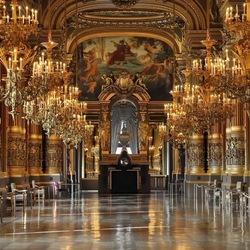Пазл онлайн: Большое фойе в Опера Гарнье