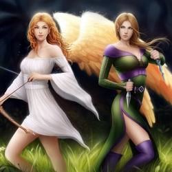 Пазл онлайн: Еlyra and Еarwen / Елира и Еарвен