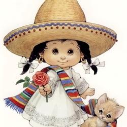 Пазл онлайн: Мексиканочка
