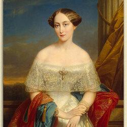 Пазл онлайн: Портрет великой княгини Ольги Николаевны