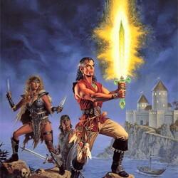 Пазл онлайн: Магия меча