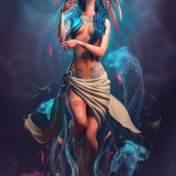 Пазл онлайн: Духи