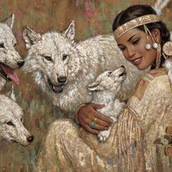 Пазл онлайн: Волчья сестра